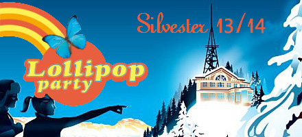 Lollipop Silvester Party auf dem Uetliberg
