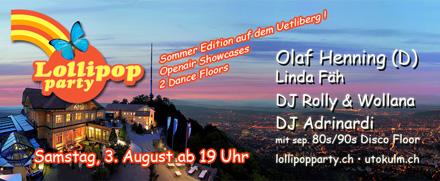 Lollipop Party auf dem Uetliberg Zürich