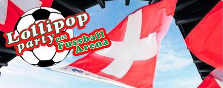 Party-Lollipop-mit-Fussball-Schweiz-Frankreich-Public-Viewing