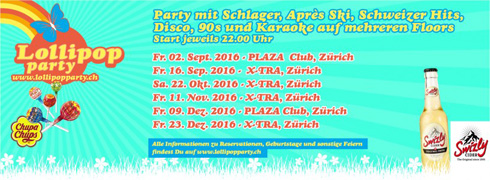 Lollipop Party mit DJ Adrinardi