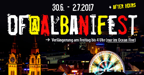 Party im Ocean Five Winterhur mit All-Star-DJs Adrinardi & OBI