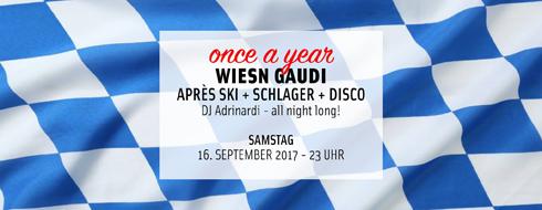 Wiesn Gaudi im Club Heile Welt Zürich