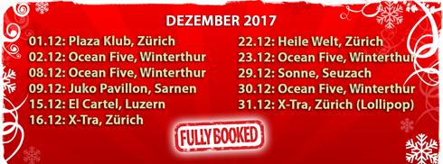 DJ Adrinardi - Partys und Gigs im Dezember 2017