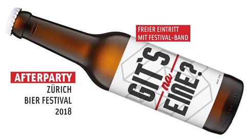 Afterparty Zürich Bier Festival im Club HW (Heilen Welt)