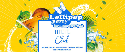 Lollipop Party im Hiltl Zürich