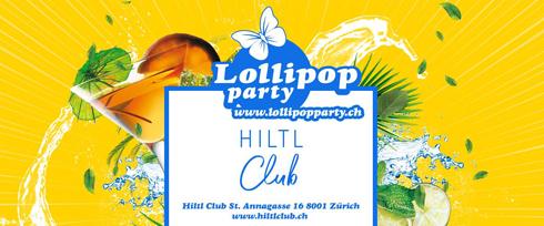 Lollipop Party im Hiltl Zürich